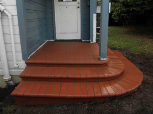 Inca Red Porch