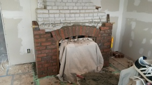 T brick arch